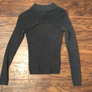 Gray sweater size small